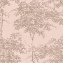 Rasch Sansa 214314  Natur facsoport rózsaszín arany fényes mintafelület tapéta