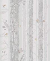 BN Smalltalk 219272 faágak állatok krém bézs menta tapéta