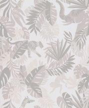 BN #Smalltalk 219306 trópusi dzsungel krémfehér krém tapéta