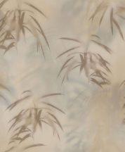 BN Finesse Dimensions 219541 natur trópusi levelek szürke bézs barna tapéta