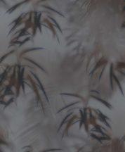 BN Finesse Dimensions 219545 natur trópusi levelek szürke barna sötétkék tapéta