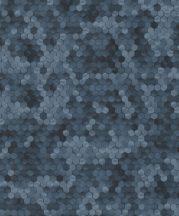 BN Finesse Dimensions 219582 Geometrikus hatszökek színátmenettel kék árnyalatok tapéta
