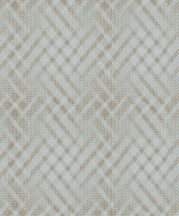 BN Finesse 219700 Art Deco geometikus káróminta világoskék rézszín tapéta
