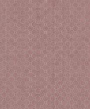 BN Finesse 219722  Art Deco geometikus grafikus körök rózsaszín ezüst bronz tapéta