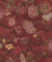 BN Van Gogh 2, 220000 Natur virágos bordópiros szines tapéta