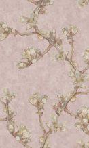 BN Van Gogh 2, 220010 Natur ágak rügyek nyiladozó virágok rózsaszín szines tapéta