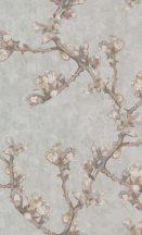 BN Van Gogh 2, 220012 Natur ágak rügyek nyiladozó virágok szürke szines tapéta