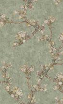 BN Van Gogh 2, 220013 Natur ágak rügyek nyiladozó virágok zöld szines tapéta