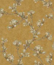 BN Van Gogh 2, 220014 Natur ágak rügyek nyiladozó virágok okkersárga szines tapéta