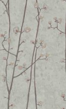 BN Van Gogh 2, 220023 Natur virágos rügyedező nyíló virágok szürke kékes szürke szines tapéta