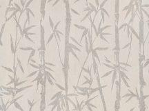 BN ZEN 220321 BAMBOO GARDEN Natur Botanikus bambuszliget halvány szürke szürkésbézs finom fémes fény tapéta