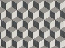 BN Cubiq 220362 Geometrikus 3D térbeli kockák halmaza törtfehér szürke antracit tapéta