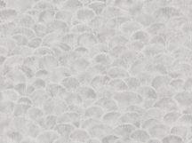 BN Fiore 220450 Natur legyezőformájú természeti minta szürke árnyalatok fehér tapéta