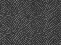 BN Grand Safari 220531 ZEBRA CROSSING Natur Zebracsíkos minta szürke fekete ezüst fémes hatás tapéta
