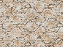 BN Grand Safari 220542 SCALY PYTHON Natur pikkelyes python bőre barna teveszőrszín krém tapéta