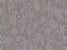 BN Grand Safari 220554 EXUBERRANT LEOPARD Natur Leopárd csillogó szőre szürke ezüstszürke szürkésbarna tapéta
