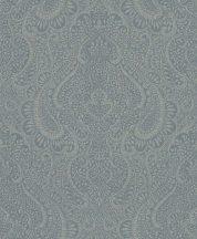 Rasch Textil Jaipur 227818 Henna  díszítőminta kékeszöld ezüst tapéta