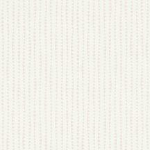 Rasch Bambino XVIII 249149 gyerekminta sok kis háromszög csíkba rendezve fehér halvány rózsaszín tapéta