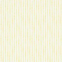 Rasch Bambino XVIII 249156  gyerekminta sok kis háromszög csíkba rendezve fehér napsárga tapéta