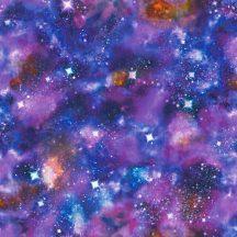 Rasch Kids & Teens III, 273205 Gyerekszobai csillagos égbolt - világító univerzum szines tapéta