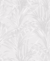 Casadeco 1930, 28920101 FOUGERES Natur stilizált nóvényi díszítés páfrányok krémfehér krém ezüst fényló mintarajzolat tapéta