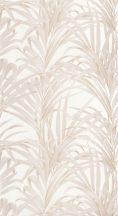 Casadeco 1930, 28921108 FOUGERES Natur stilizált nóvényi díszítés páfrányok krémfehér bézs arany fényló mintarajzolat tapéta