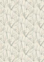 EMIL & HUGO Zanzibar 289823 PAPYRUS Natur papiruszlevelek finom színátmenettel krém bézs zsályazöld pasztell árnyalatok tapéta