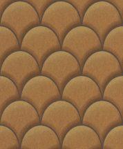 EMIL & HUGO Zanzibar 289854 TEATRO Art Deco 3D arany bronz barna finom csillogó hatás tapéta