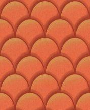 EMIL & HUGO Zanzibar 289878 TEATRO Art Deco 3D korallvörös árnyalatok arany finom csillogó hatás tapéta