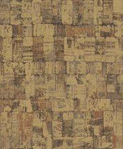 EMIL & HUGO Zanzibar 289892 DOMINO CHIC dominócsempe minta arany bronz fekete finom csillogó hatás tapéta