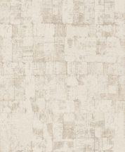 EMIL & HUGO Zanzibar 289939 DOMINO CHIC dominócsempe minta krémfehér bézs szürkésbézs finom csillogó hatás tapéta