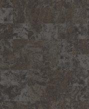 EMIL & HUGO Zanzibar 290133 MARBLE TILES Natur modulált patinás kőmintázat antracit ezüstszürke arany matt-fényes tapéta