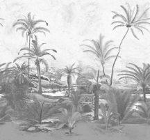 BN Panthera 200353 natur idilli trópusi csendélet fehér szürke ezüstszürke falpanel