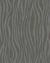 Marburg Casual 30401 Design hullámminta fekete antracit ezüst tapéta