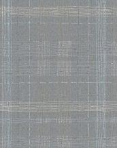 Marburg Casual 30438 geometrikus vonalakból kialakított kockás rácsminta szürke ezüst tapéta