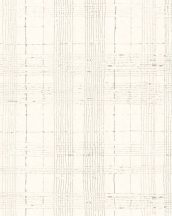 Marburg Casual 30440 geometrikus vonalakból kialakított kockás rácsminta szürke krém bézs tapéta