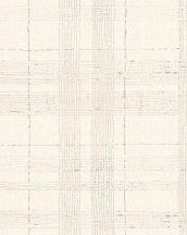 Marburg Casual 30441  geometrikus vonalakból kialakított kockás rácsminta szürke krém bézs barna tapéta