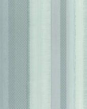 Marburg Casual 30443 fémes pontokkal és váltakozó struktúrával kialakított csíkos minta türkiz világoszöld szürke tapéta