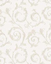 Marburg Home Classic Belvedere 30610  klasszikus indaminta krémfehér bézsarany fénylő felület tapéta
