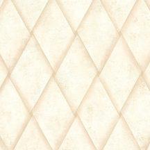 Marburg Platinum 31001 Geometrikus eltolt rombuszok bézs barna arany tapéta