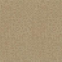 Marburg Platinum 31012  Natur mozaik minta barna aranybarna tapéta