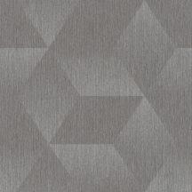 Rasch ZOYA 311006 Geometrikus szürke és ezüst árnyalatok irizáló színhatás fényes mintarészletek tapéta
