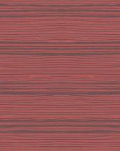Marburg Silk Road 31213 csíkos vízszintes csíkozás piros lila ezüst fémes hatás tapéta