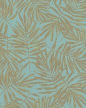 Marburg La Veneziana 4, 31319  natur levélmintázat kékeszöld arany fémes hatás