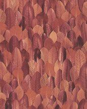Marburg Imagine 31734 Natur realisztikus levél mintázat piros/vörös narancs tapéra