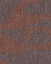Marburg Schöner Wohnen New Modern 31820 Natur Geometrikus nagyformátumú grafikus minta szövetstruktúra vörös/terra lila vöröseslila tapéta