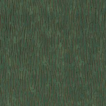 Marburg Memento 32005 HERITAGE LUXURY Grafikus Kiemelkedő vonalak sötétzöld rézszín fekete csillogó szemcsék tapéta