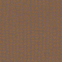Marburg Memento 32023 EXPLORE SURFACES Geometrikus változó háromszögek barnáspiros/terra bronz applikált csillogó szemcsék tapéta