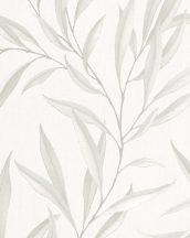 Marburg Modernista 32202 Natur levélmotívom krém bézs szürkésbézs fénylő mintafelület tapéta