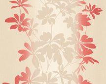 As-Creation Fiore 32584-4 Virágos díszítőminta panelhatású mintavezetés krém bézs piros tapéta